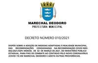 Decreto Número 010/2021