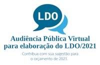 Prefeitura convida população para audiência pública virtual de avaliação das Metas Fiscais estabelecidas na Lei de Diretrizes Orçamentárias