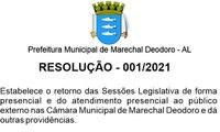 Resolução 2021/001